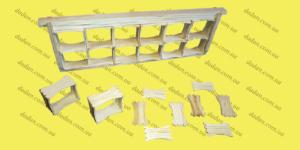 Рамки для сотового меда 57х68х36