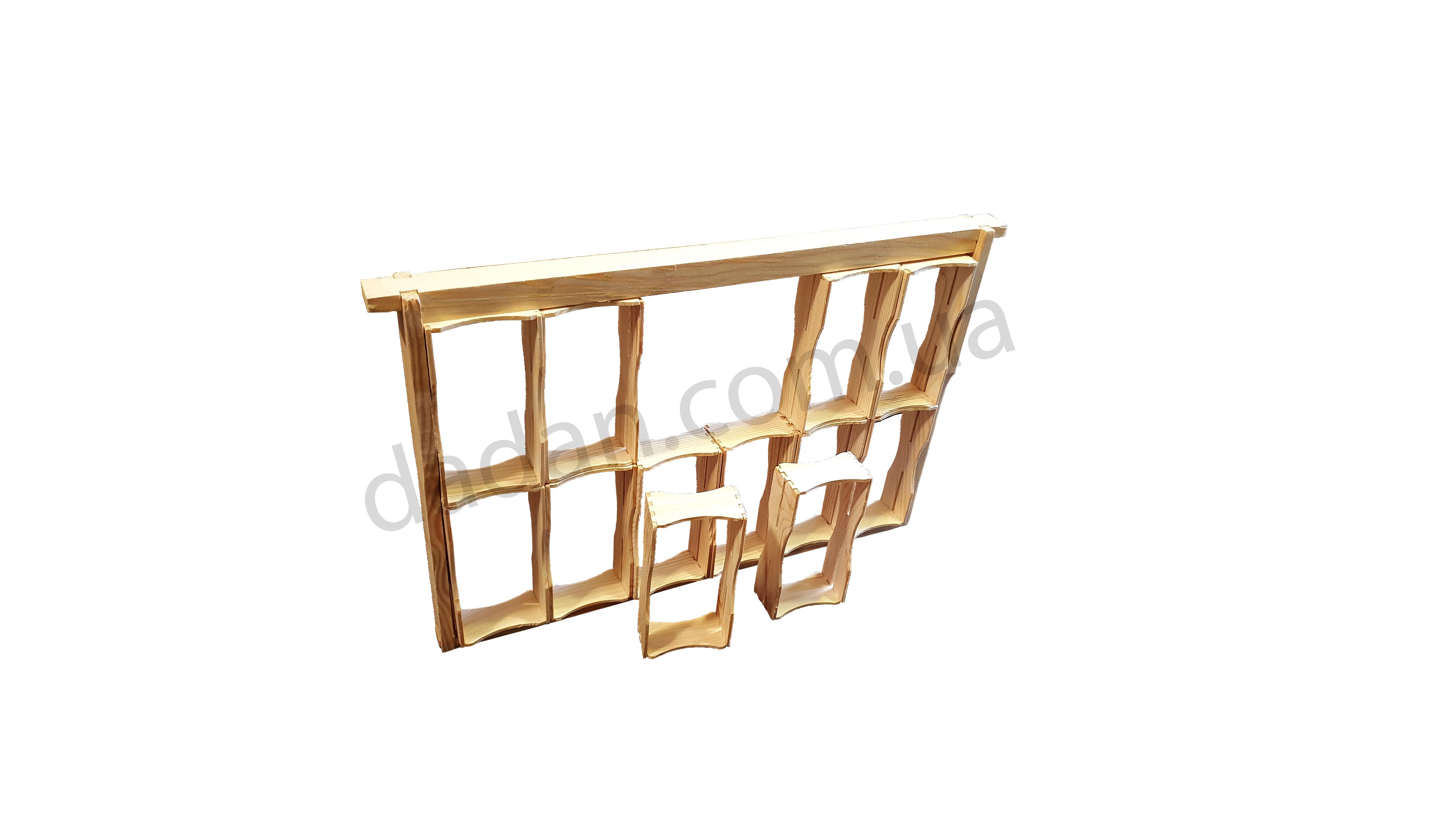 Рамка для сотового меда под рамку Дадана 12 шт.