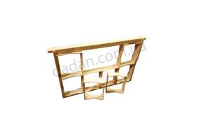 Рамки для сотового меда под рамку Дадана 8 шт.
