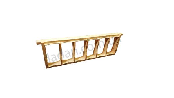 Рамка для сотового меда 125*68*35мм